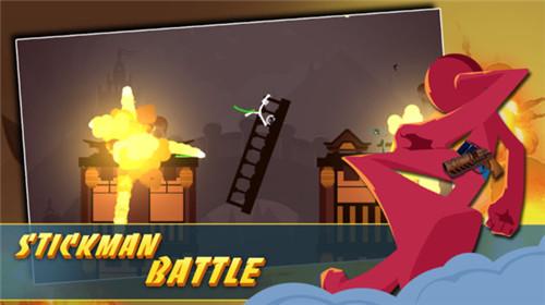 趣味动作游戏《火柴人对决之王》紧张刺激的游戏氛围