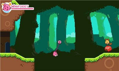 闯关挑战游戏《小粉红英雄》可爱粉红英雄森林冒险