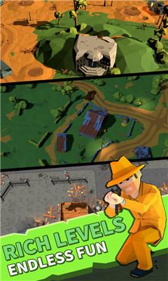 动作枪战游戏《绝地僵尸战》组建小队对抗僵尸进攻
