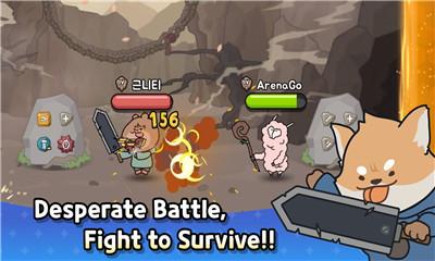 魔性战斗冒险游戏《竞技场Go》横板可爱画风V1.2
