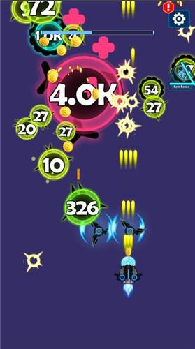 卡通战机射击游戏《消灭外星病毒》驾驶飞船消灭病毒-刀鱼资源网 - 技术教程资源整合网_小刀娱乐网分享-第3张图片