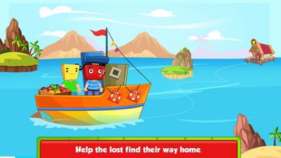 航海主题小游戏《水手马蒂海上船长》跟着马蒂在海上冒险