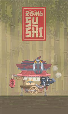 卡通强迫症福利游戏《寿司塔》移动寿司整齐排列