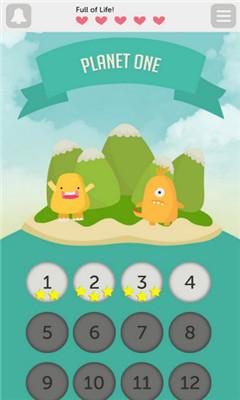 休闲消除小游戏《点点热潮》消除4个以上相同小点