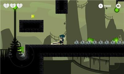 横板剧情流过关游戏《剑之英雄拯救》黑白画风剑客对战手游