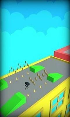 动作跑酷游戏《小猫快跳》操控小猫躲避障碍