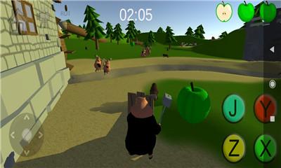 沙盒益智游戏《小肥猪的战》扮演小猪保护农场