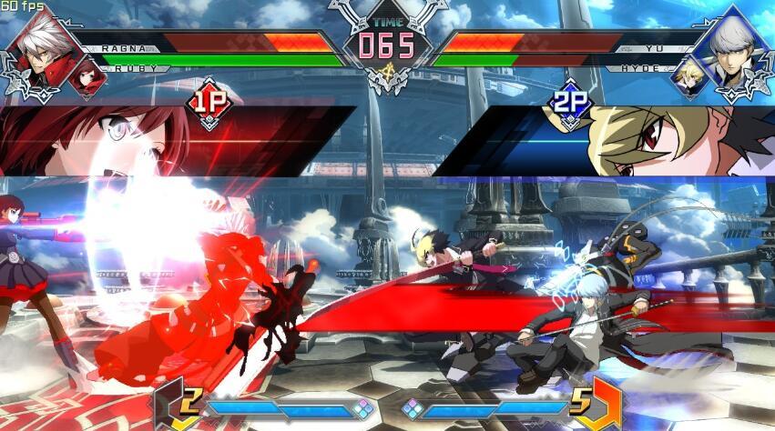 《苍翼默示录》横板游戏厅2D动漫格斗游戏